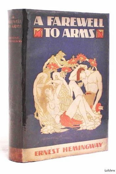 Image of A Farewell to Arms book cover
